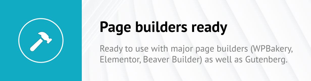 Construtores de páginas prontos